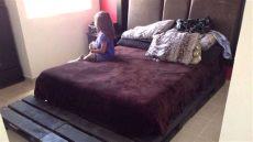 base para cama para matrimonial o medidas 150 cm x 240 cm - Cama Matrimonial Es Queen O Full