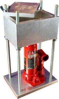 hydraulic pollen press the brick press best 4 ton hydraulic pollen hash square presses 8 000 lbs ebay