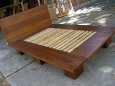 como hacer una base de madera para cama king size como hacer una base para cama dise 241 o artesanal