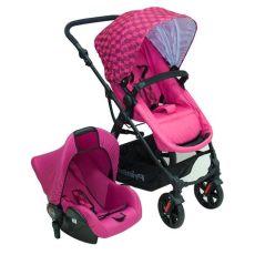 carreola galaxy prinsel ts portabebe autoasiento rosa 3 790 00 en mercado libre - Carreolas Modernas Prinsel