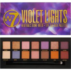 w7 eyeshadow palette w7 cosmetics violet lights 14 colour eyeshadow palette makeup free delivery justmylook
