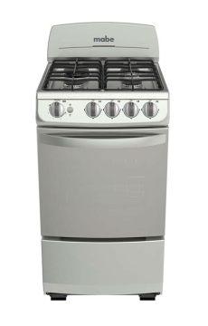 estufas de gas mabe mabe estufa de piso a gas con 4 quemadores em5142bsis0 plata