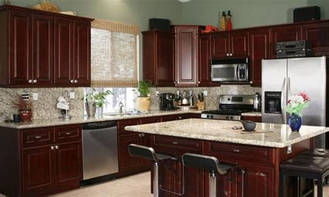 reason choose dark maple kitchen cabinets modern kitchens