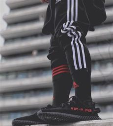 adidas lifestyle styling feat yeezy boost 350 v2 quot bred quot sneaker fashion sneakers - Yeezy 350 V2 Bred Outfit
