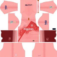 barcelona new kit 201819 dls barcelona logo league soccer 201819 your soccer football