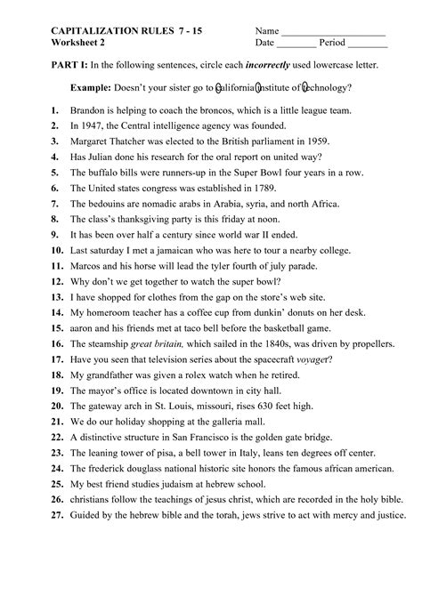 13 images punctuation worksheets middle school elementary grammar