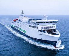copenhagen trolines scandlines mv copenhagen makes maiden voyage
