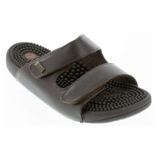 womens and mens kenkoh serenity 2 brown sandal happyfeet - Kenkoh Sandals Singapore