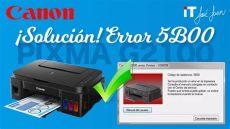 soluci 211 n a error 5b00 canon pixma g2100 - Canon G2100 Codigo De Asistencia 5b00