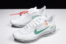 2018 white x nike air max 97 og quot menta quot white green aj4585 101 sole look - Nike Air Max 97 Og Off White Menta