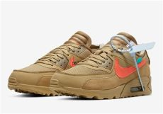 white nike air max 90 desert ore aa7293 200 sneakernews - Off White Air Max 90 Desert Ore
