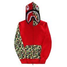 bape hoodies 2015 new winter japanese harajuku brand camouflage shark print bape - Bape Shark Hoodie Price Japan
