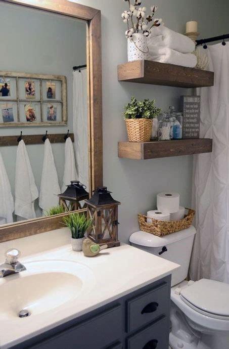simple small bathroom decor brings ease roohome
