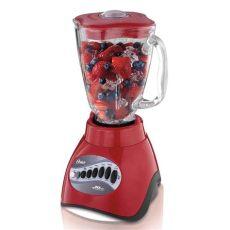 licuadora de 10 velocidades oster 174 roja vaso de vidrio oster - Licuadora Oster Roja Walmart