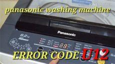 error u12 lavadora panasonic solucion panasonic washing machine error code u12 ម ស នប ក panasonic error code u12