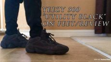 yeezy black friday red on feet yeezy 500 quot utility black quot on review