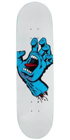 santa cruz screaming hand deck santa screaming taper tip skateboard deck 8 50 quot