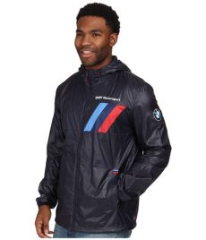 bmw motorsport jacket puma lyst bmw motorsport lightweight jacket in blue for