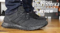 adidas ultra boost 4 0 black review - Ultra Boost 40 Triple Black For Sale