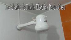 instalaci 243 n de ducha el 233 ctrica pas 243 a paso - Mi Ducha Electrica Calienta Mucho