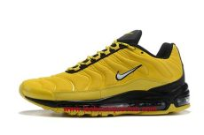 air max 97 plus tn jaune nike air max plus chaussure de running nike air max 97 plus tn homme jaune noir 1910080913