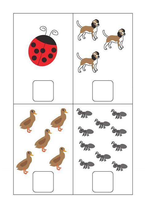 free preschool kindergarten simple math worksheets 4 funnycrafts