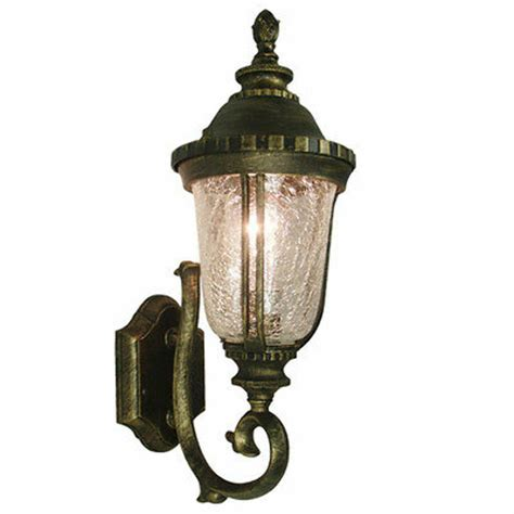 tp lighting golden black outdoor wall lighting fixture