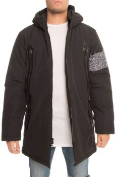 puma x trapstar london team parka jacket x trapstar team parka black