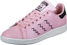 stan smith shoes pink adidas stan smith w shoes pink black white
