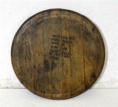bourbon barrel lid art makers bourbon whiskey barrel lid wall olde things