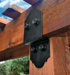 black metal brackets for wood beams ozco post to beam brackets for outdoor structures with images beams bottle opener wall bracket