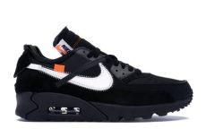 nike air max 90 white black aa7293 001 - Air Max 90 Off White Black