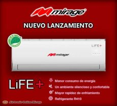 minisplit mirage 1 ton 12000 btus a 110v 12 meses si 6 190 00 en mercado libre - Mini Split 12 Tonelada