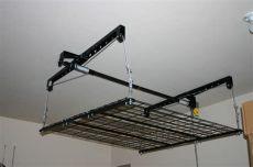 garage storage lift diy 5 service benefits of overhead garage storage systems