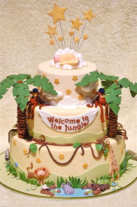jungle baby shower deedee cakecentral