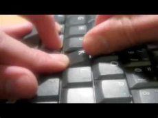 como arreglar la tecla de la luz como reparar el teclado de nuestro portatil