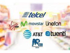 recarga electronica att chip telcel 4g region 1 50 tiempo aire posot class