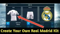 kit real madrid 18 dls how to create real madrid kit for dls 18 easy tutorial