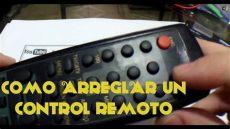 como arreglar un remoto - Como Reparar Un Control Remoto