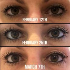 eye wonder monat before and after grow thick eyelashes and eyebrows in 28 days with monat eye monat haircare
