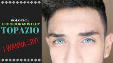 solotica hidrocor monthly topazio comparison and review - Solotica Hidrocor Monthly Topazio