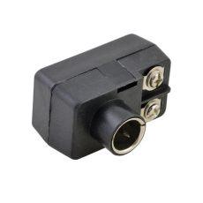 ficha de antena de tv ficha adaptadora para antena tv 300 75 ohms luminotecnia