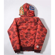 bape red camo shark hoodie a bathing ape bape wgm camo shark hoodie