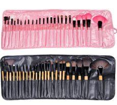 set de brochas para maquillaje walmart set 24 brochas maquillaje con estuche con envio jkmx 339 00 en mercado libre