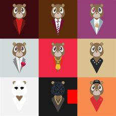 degausser s dropout bears other finally updated 171 kanye west forum hip hop artwork kanye - Yeezy Bear Poster