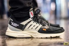 nike presto off white on feet iam ran on nike air presto x white