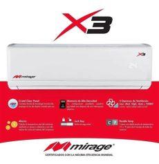 minisplit 12 tonelada mirage aire minisplit mirage x3 1 tonelada frio 220v msi 5 665 00 en mercado libre