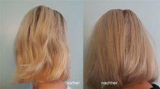 hair glossing zuhause pin auf hair