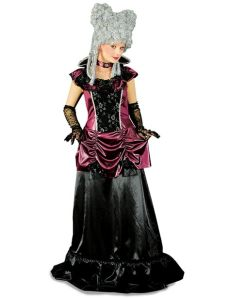 kostum kindheitshelden damen barock gr 228 fin damen kost 252 m schwarz burgund kost 252 me f 252 r erwachsene und g 252 nstige faschingskost 252 me