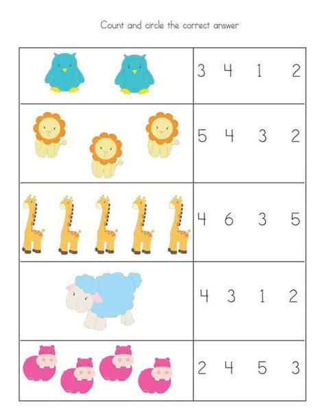 free preschool kindergarten simple math worksheets 3 preschool